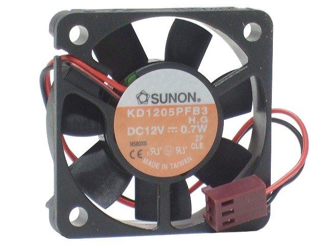Sunon Kd1205Pfb3 Fan Dc12V .7W
