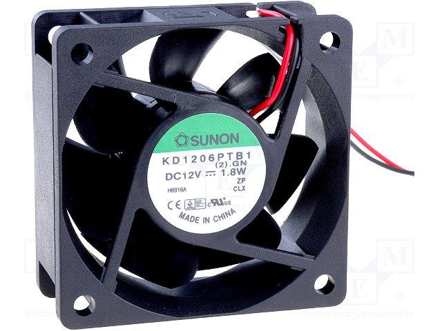 Sunon Kd1206Ptb1 Fan Dc12V 2.2W