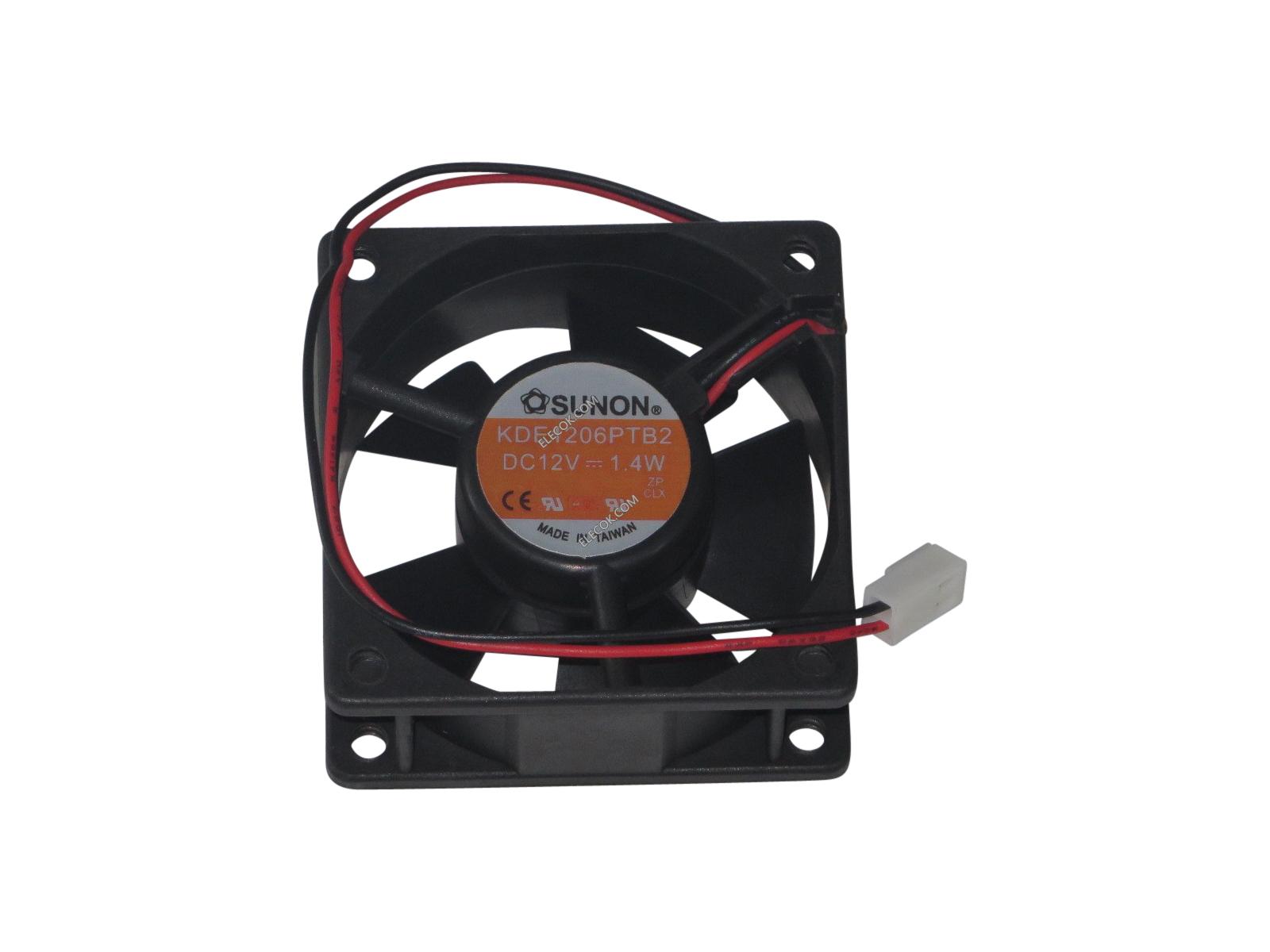 Sunon Kde1206Ptb2 Fan Assy Dc12V 1.4W 2-Wire