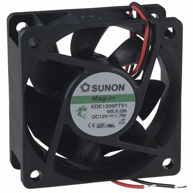 Sunon Kde1206Ptv1 Fan Dc12V 2.2W 2-Wire