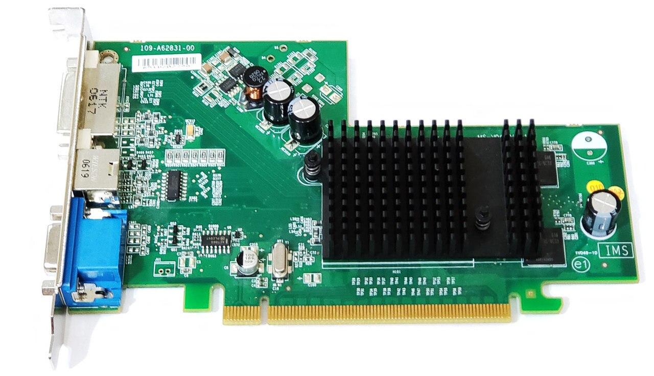 Dell ATI Radeon X300 SE PCIe x16 Video Graphics Card 0KH285