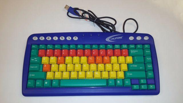 ERGOGUYS KB1 Califone Kids Computer USB Keyboard
