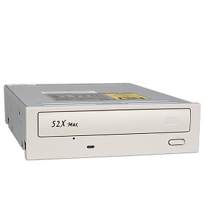 Lite-On LTN-526S 52X IDE CD-ROM White Bezel