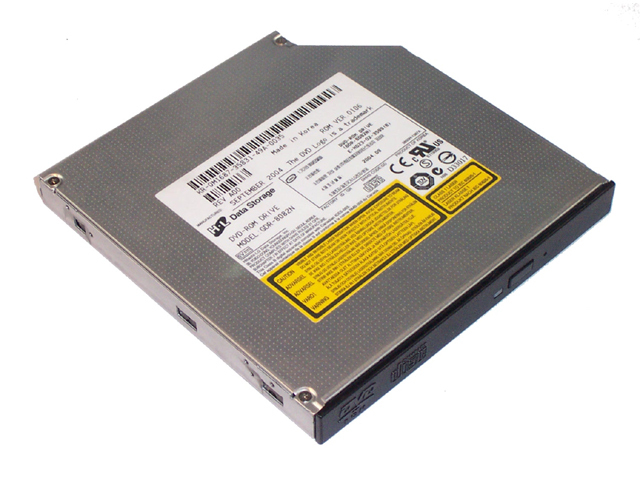 DVD-ROM 8X HL DATA SLIM BLK BEZEL