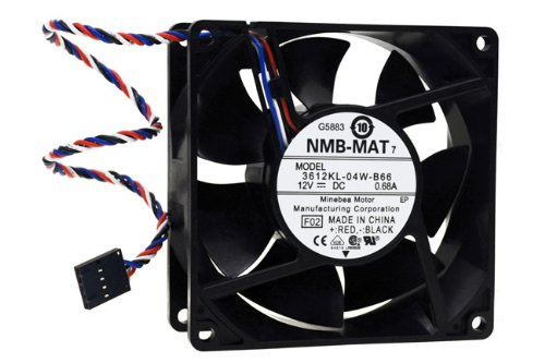 Nidec Beta V M35172-35 fan 12V 0.66A 5 pin  4 wire cable