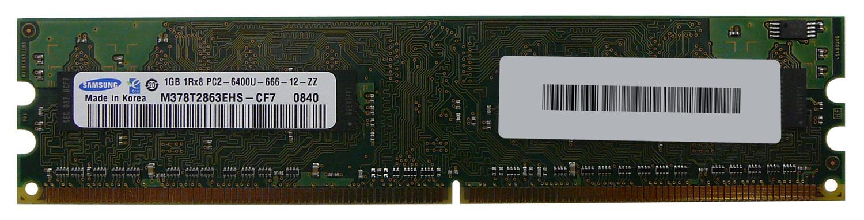Samsung M378T2863EHS-CF7 2GB 2 x 1GB PC2-6400U DDR2 800
