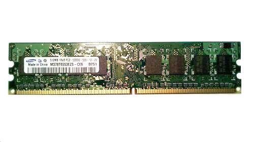 M378T6553Ezs-Ce6 Samsung 512Mb Ram Ddr2-667 Pc2 5300 240Pin ?