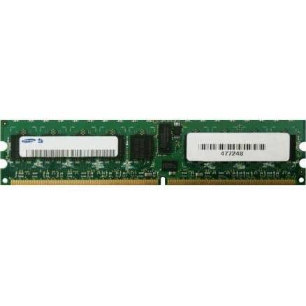 Samsung 512MB PC2-3200 DDR2-400MHz ECC Registered CL3 240-Pin DI