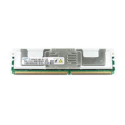 1GB PC2-5300F DDR2-667 2RX8 ECC