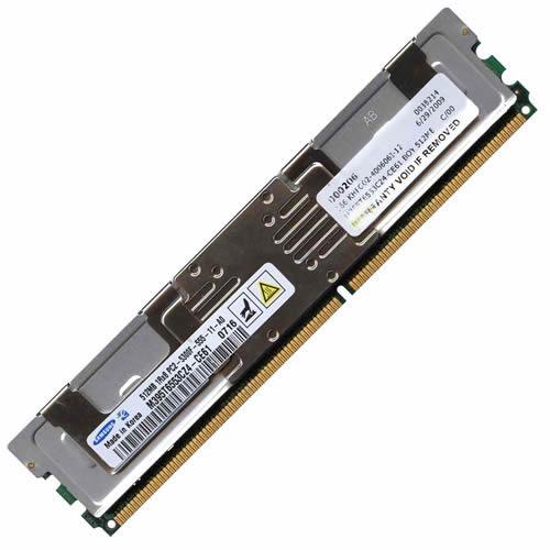 512MB 1RX8 PC2-5300F Memory (1x512MB)