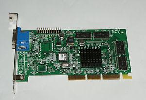 Dell 32MB Nvidia TNT2 M64 AGP Video Graphics Card