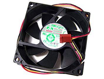 Magic 12v 0.39a 80x25mm 3-Wire FAN New MGT8012XR-A25 3-Pin 12in W