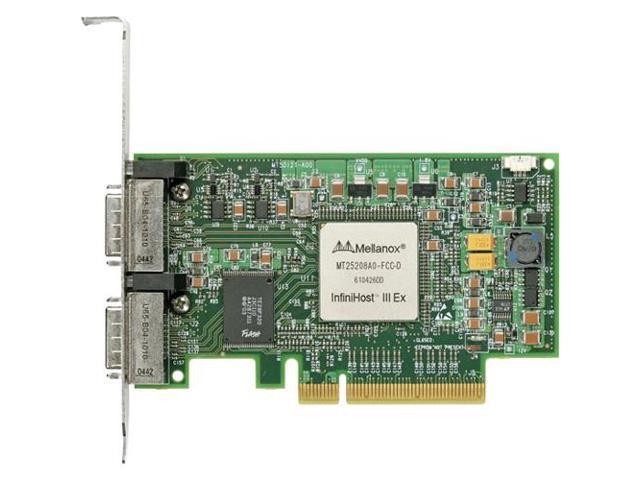 Mellanox MHGA28-XTC InfiniHost III Ex HCA 40GB 2xPort PCIe x8 (S1)