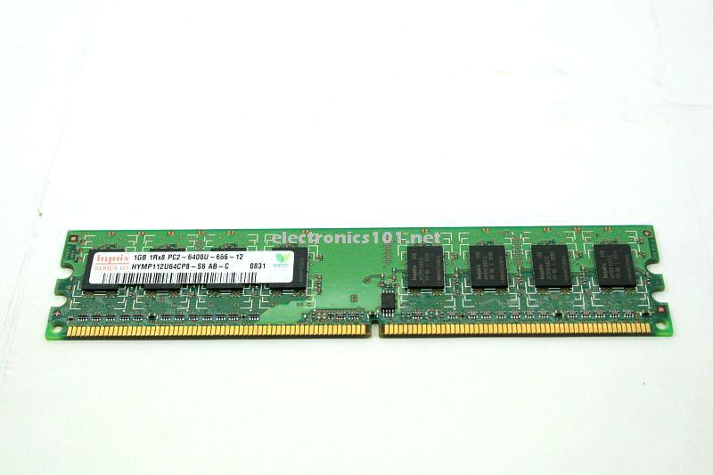 1GB 2Rx8 PC2 6400U