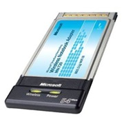 Microsoft Mn-720 Wireless Notebook Adapter 802.11G / Wi-Fi 54MbPS