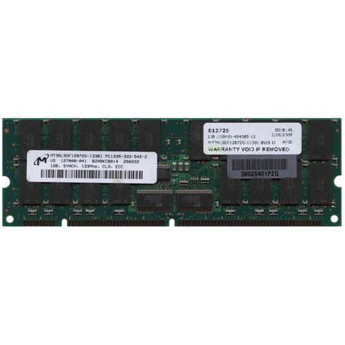 Micron 1Gb Pc-133R Ddr-133 Registered Ecc High Profile Cl3 168 P