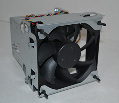 DellOptiplex 980 Mini Tower Heatsink Metal Shroud Fan Assembly