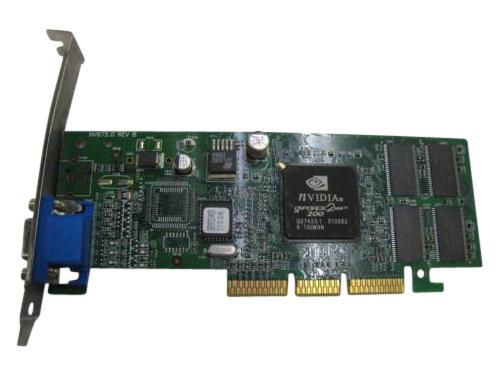Nvidia Nv875.0 Agp Video Card 32Mb Gforce2 Mx