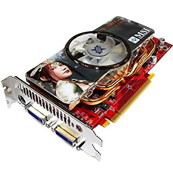 MSI NX8800GT - 512M OC 16MB 512MB Ports Dual Dvi Tv Out Nvidia GPU PCI Express Video Card