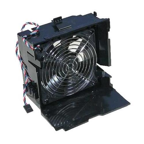 DELL CPU FAN AND SHROUD ASSY FOR PE T100