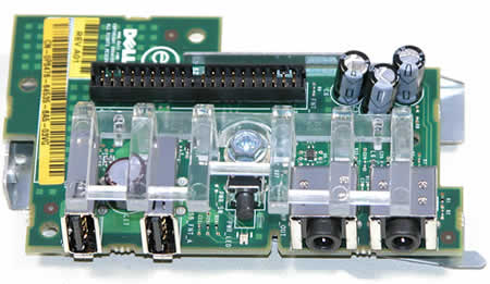 Dell P8476 Front I/O Board with USB and Audio for Mini-Tower PCs