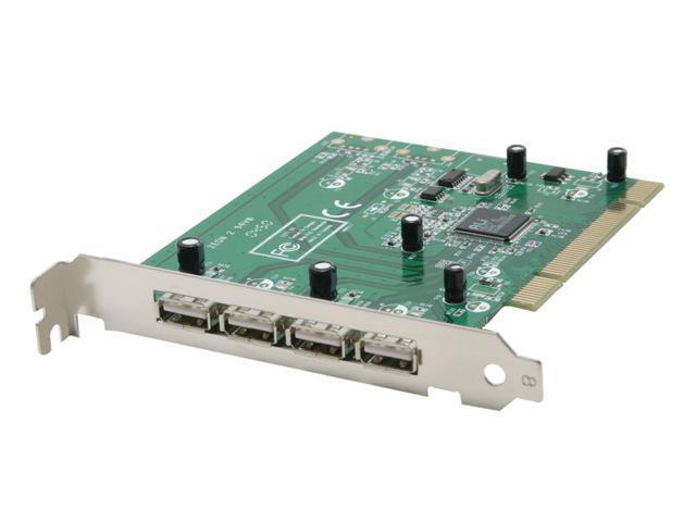 StarTech PCI425USB 4-Port USB 2.0 Internal PCI Card