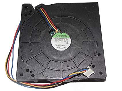 FAN 12V 9.8W 4WIRES 120X120X32MM 4 Wire 4 Pin