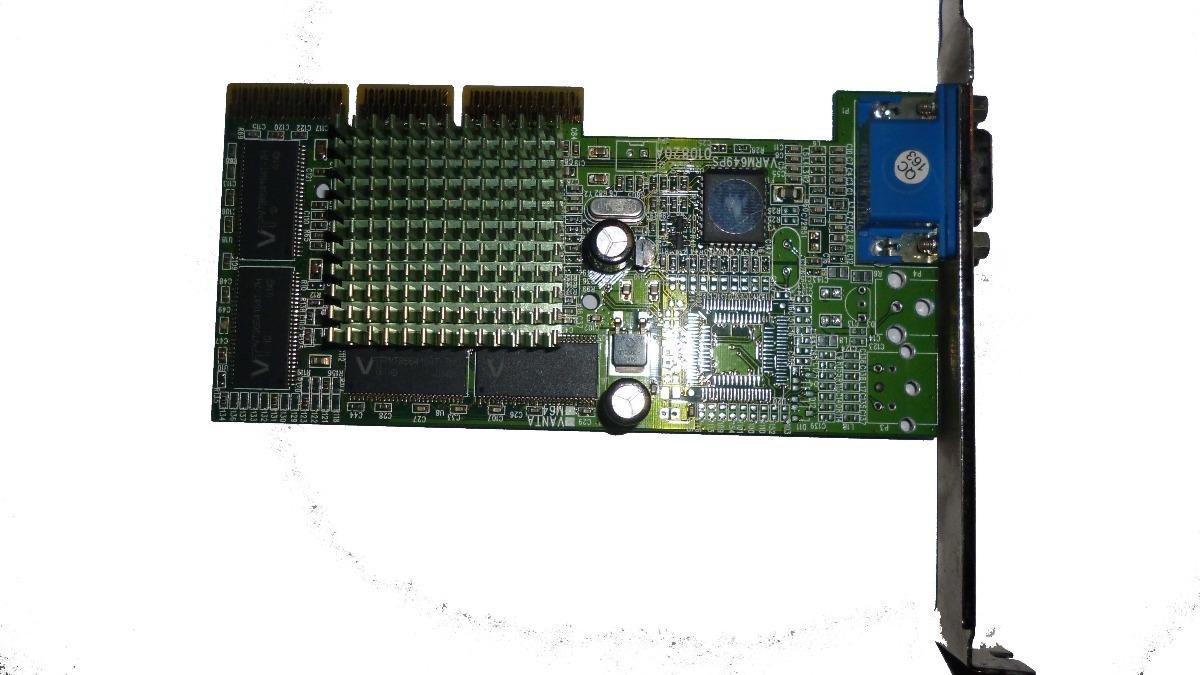 32Mb Tnt2 M64 Agp Video Card