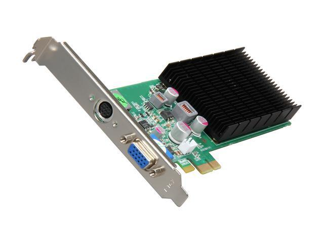 Jaton GeForce 8400GS 512MB DDR2 VGA/S-Video Low Profile Video-PX