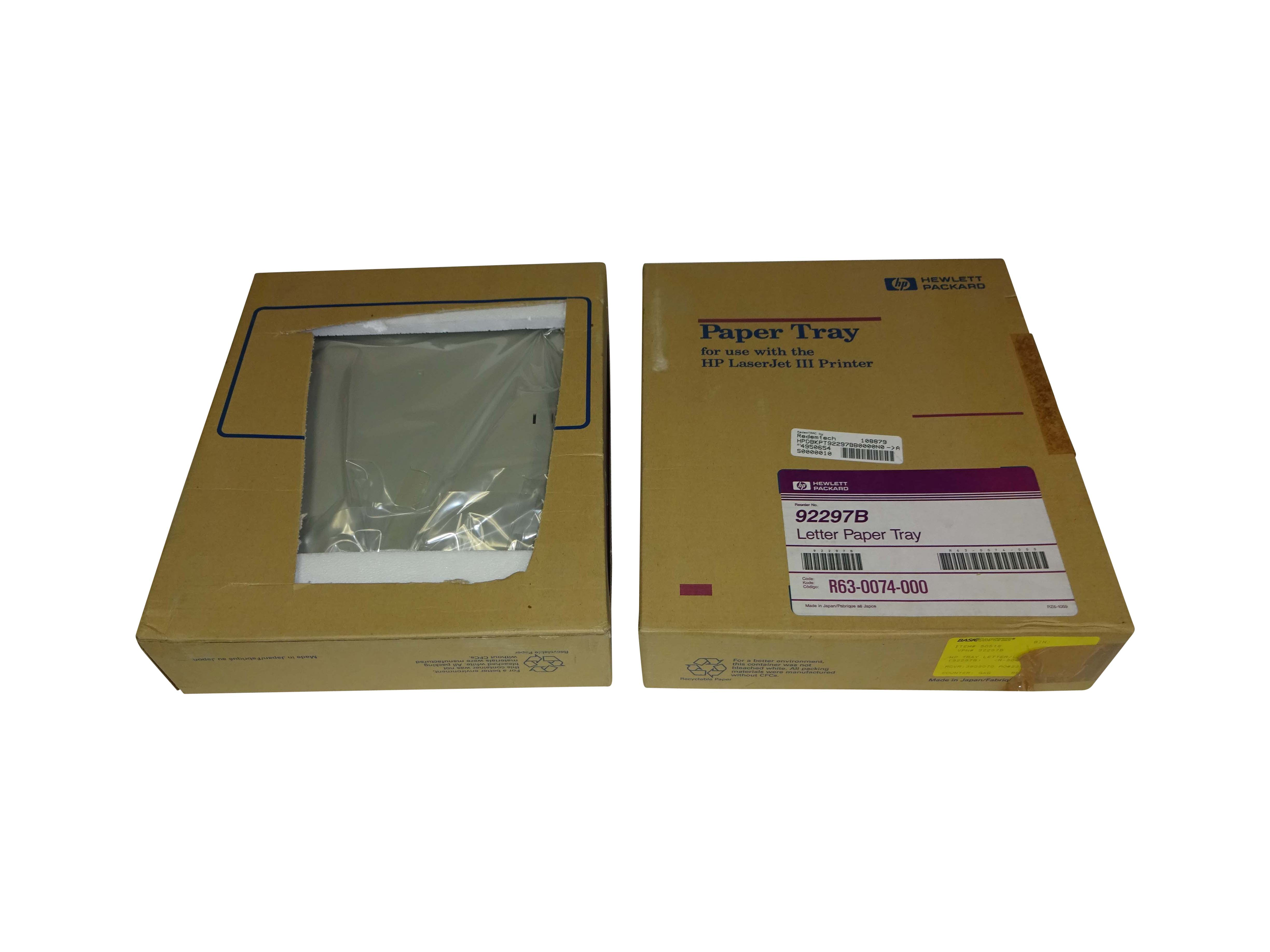 HP Letter paper tray new in box