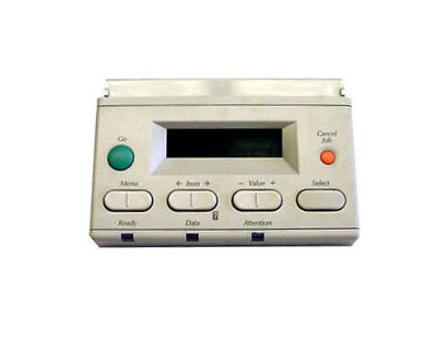 Control panel - Includes display