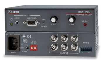 Extron RGB 130xi 134xi 138xi Universal Interface