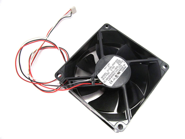 Bare wire fan 3 wire