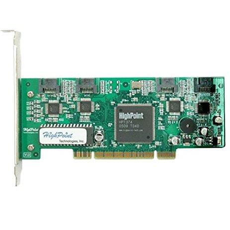 HighPoint RocketRAID 1640 4-Port SATA PCI-Express x16 RAID Controller Card Only