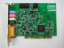 Creative Labs Sound Blaster PCI 512 Sound Card