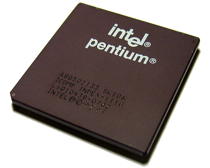 Intel Sk106 Cpu Intel Pentium 133Mhz