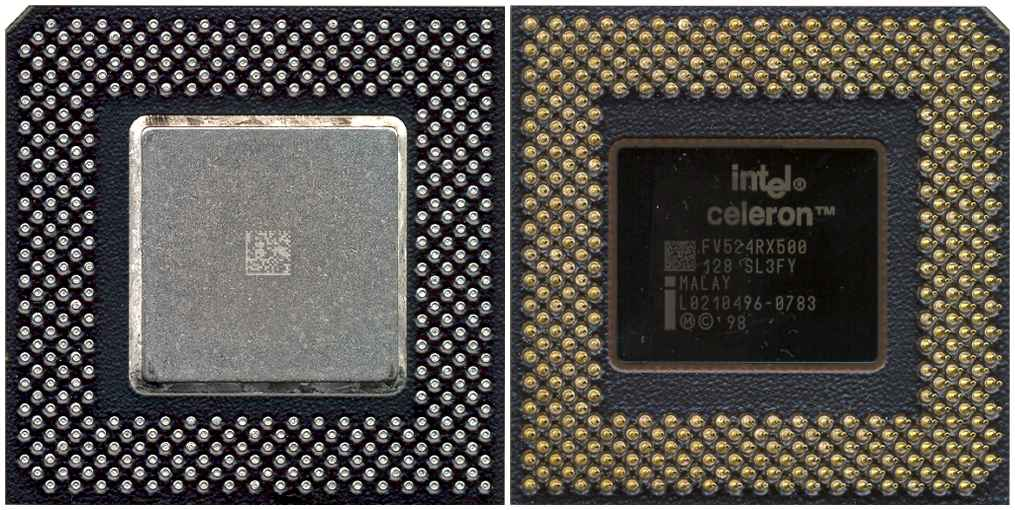 Intel Sl3Fy Intel Celeron Processor 500Mhz 128K