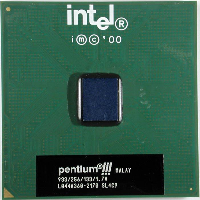 Intel Sl4C9 933Mhz Cpu 256/133 1.7V In Trays