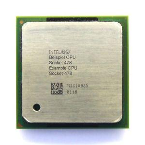 Intel SL6DX - 2.66Ghz 533Mhz 512K PGA478 Intel Pentium 4 CPU Processor