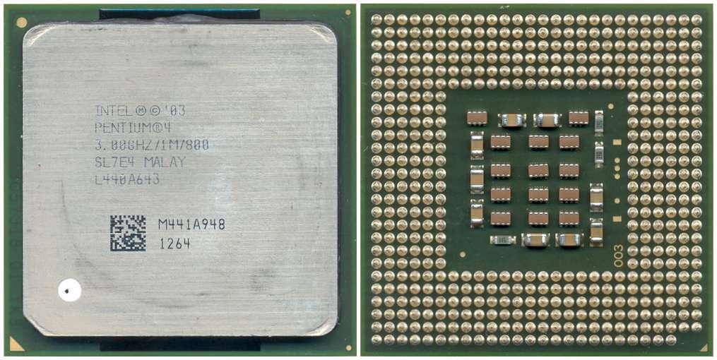 Intel Sl7E4 Cpu P4 3.00Ghz/1M/800