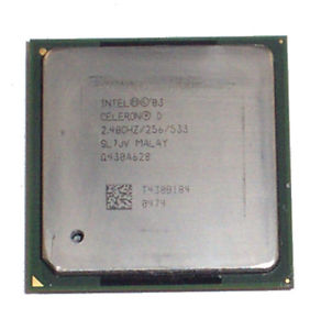 Intel Celeron D 320 SL7JV 2.4 GHz Socket 478 CPU