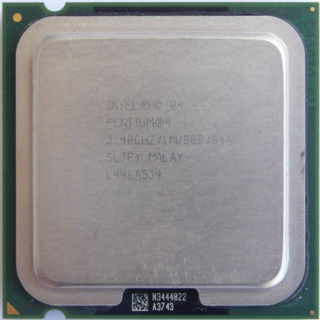 Pentium 4 550 3.4GHz 1Mb Cache 800FSB SKT 775 SL7PY