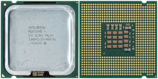 SL9KG Intel Pentium 4 631 3 GHz 2MB cache 800MHz FSB LGA775