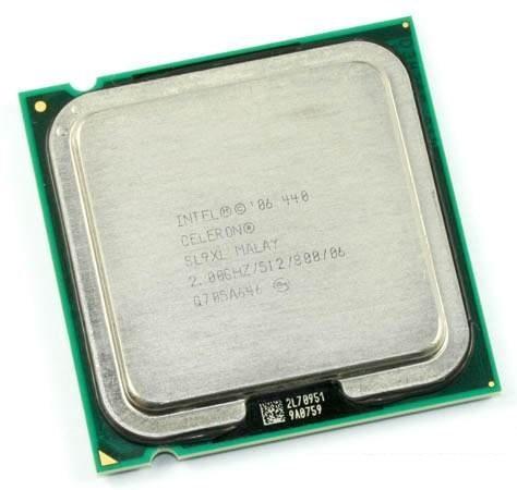 Intel SL9XL Celeron 440 CPU 2.0GHz 800MHz FSB 512k LGA775