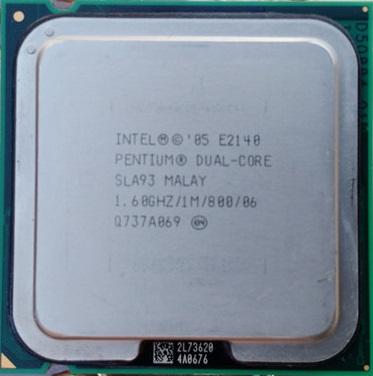 SLA93 Intel Pentium Dual-Core 1.6GHz/1M/800 LGA775 (E2140) Dual Core CPU