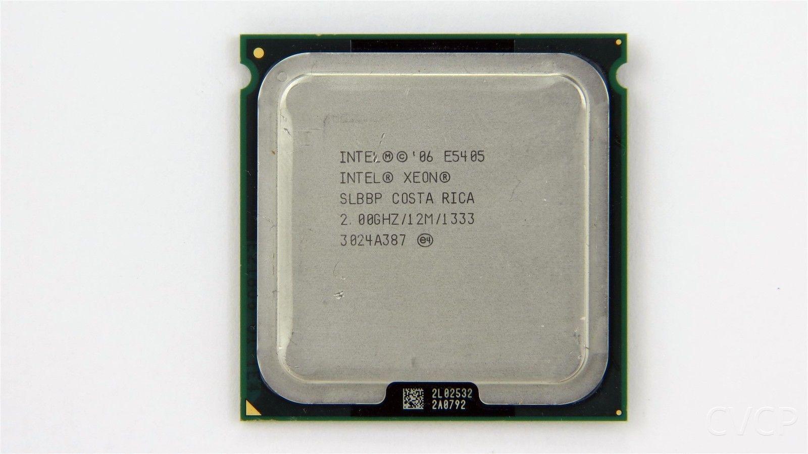 Intel Xeon E5405 Quad-Core 2.0Ghz 1333Mhz 12Mb Lga771 Processor