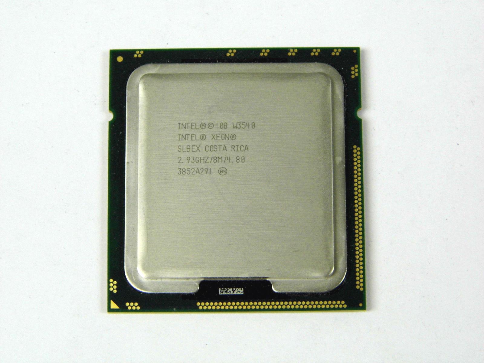 Slbex Intel Xeon Processor W3540 2.93Ghz 8M 4 Cores 130W D0