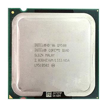 Intel Core 2 Quad CPU Q9500 SLGZ4 2.83GHZ 6MB 1333MHz CPU Processor