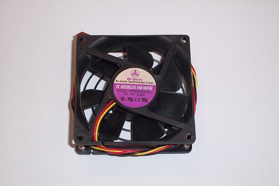 Dc Brushless Fan Motor Sp802512H-03 Dc12V 0.30A, 3-Pin, 80X25Mm