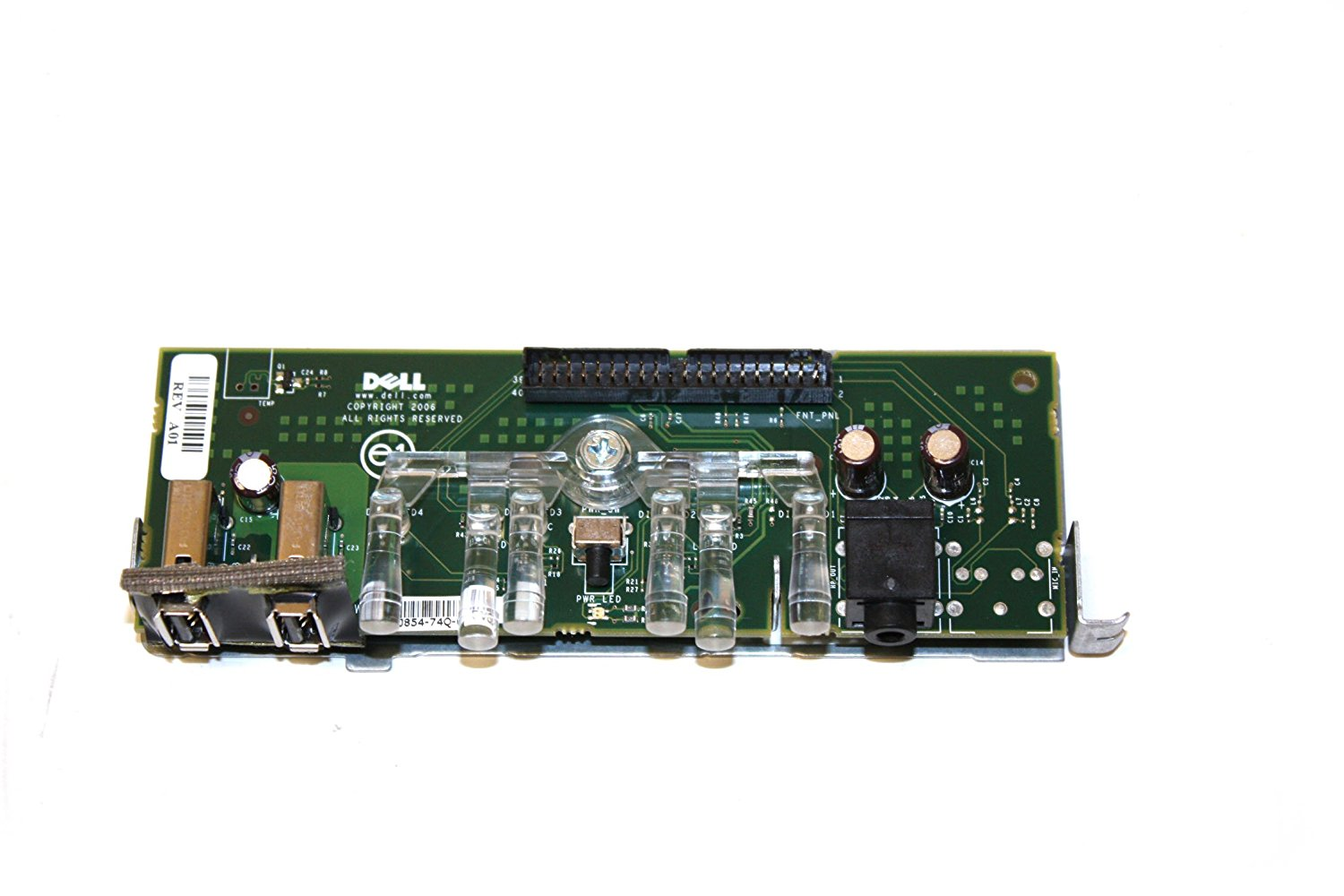 Dell TX868 Front I/O Panel Assy, 320, MT (0TX868)